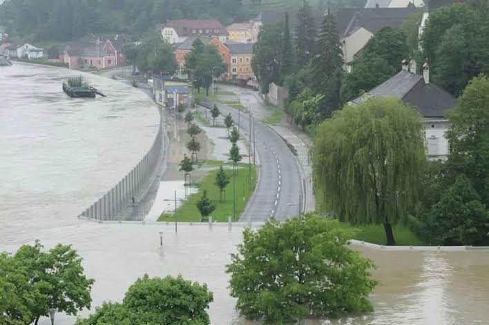 Linz mobilgát árvíz